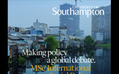 The new International Social Policy explores a range of contemporary international issues