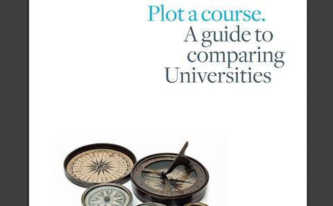 Comparing universities guide
