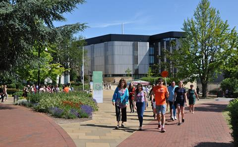 An open day at Highfield Campus
