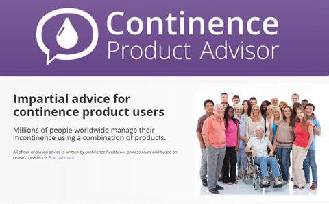 Continence Product Advisor