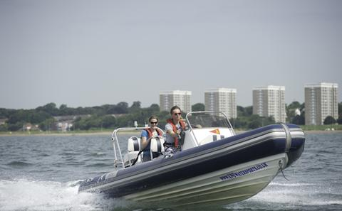 Powerboating on the Solent