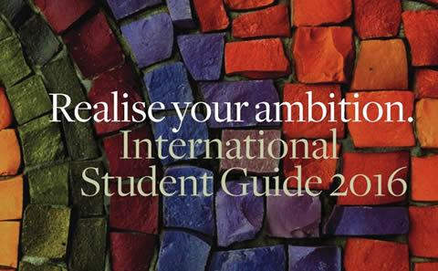 International student guide cover