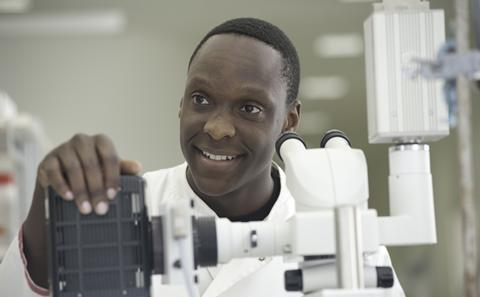 Postgraduate biology research student