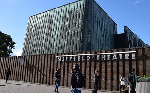 Nuffield Theatre on Highfield Campus