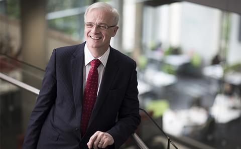 Professor Sir Christopher Snowden, Head of the Executive Group