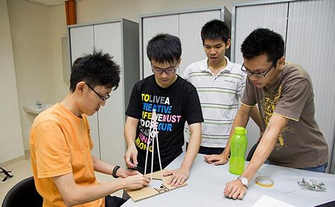 Malaysia Campus students