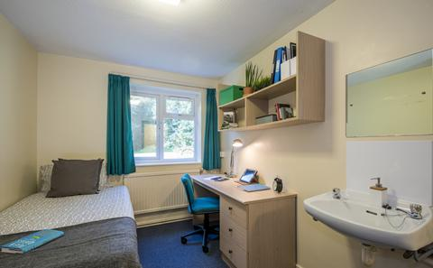 An example of a non-en suite category 2 room