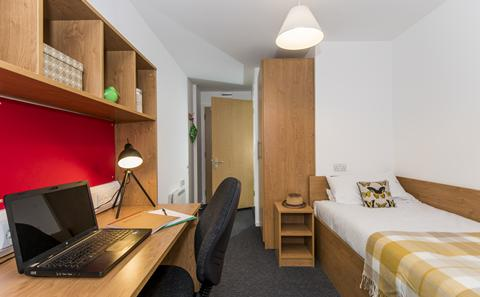 An en suite category 1 room in City Gateway
