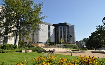 The Life Sciences Building is energy-efficient as well as inspirational