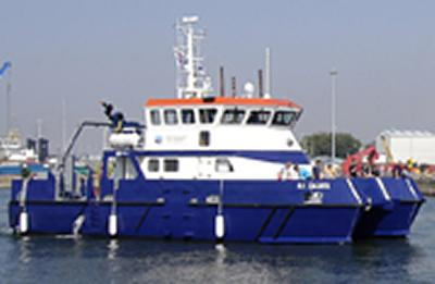 Callista is the University's state-of-the-art research vessel.