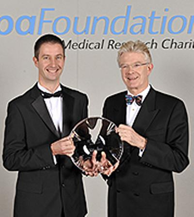receives the Bupa Foundation Award