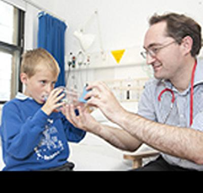 Commended in report by Royal College of Paediatrics and Child Health