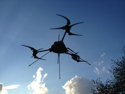 Small morphing unmanned aircraft inflight