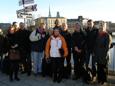 Project partners kick off meeting in Stockholm