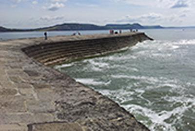 The size of sea defences may need to be increased if when changes in the tide are taken into account