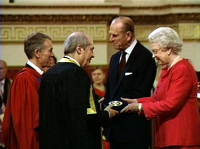 ISVR was awarded the Queen's Anniversary Prize 2005