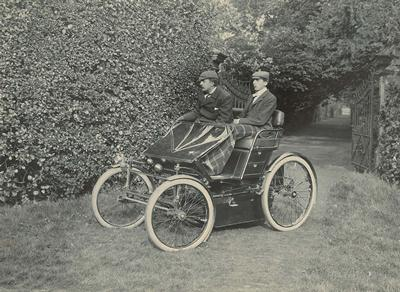 An early Lanchester car