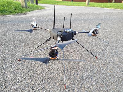 Small morphing unmanned aircraft