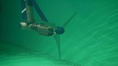 Underwater turbine