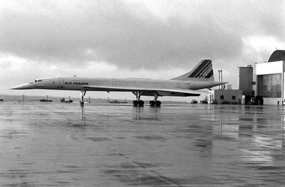 Concorde, made a reality by Geoffrey Lilley