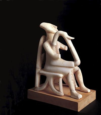 Greek cycladic sculpture