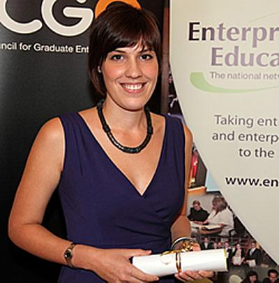 Helena was the overall winner of the 'Enterprise Champions' category
