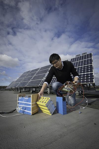 Developing efficient solar energy
