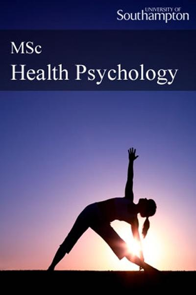 Cover to eHandbook for MSc Health Psychology