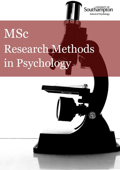 Master thesis research methods