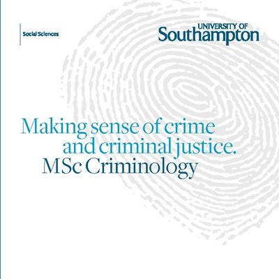 PG Dip/MSc Criminology
