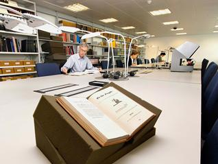 Archives searchroom