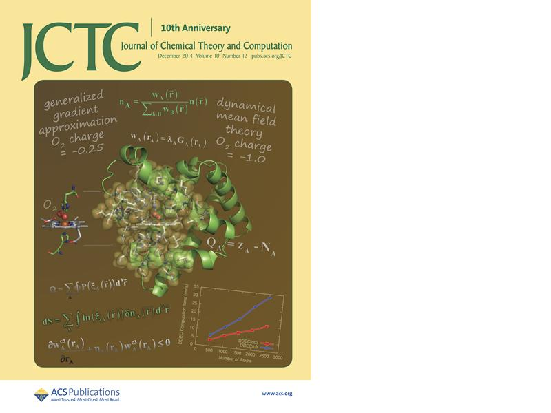 Journal of Chemical Theory and Computation Front Cover