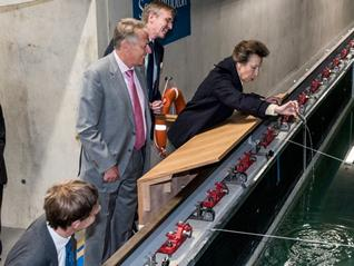 Princess Anne Visit