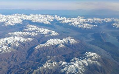 Southern Alps, New Zealand