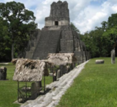 A temple in the Kingdom of Tikal