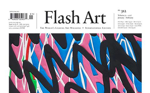 Cover of Flash Art Int. 312
