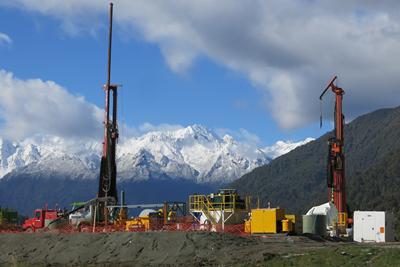 Drilling in New Zealand