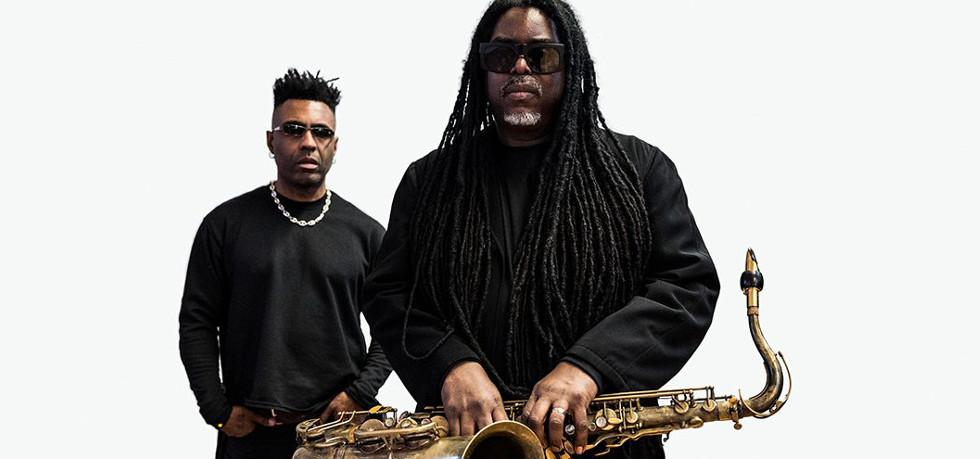 Courtney Pine & Omar, Turner Sims