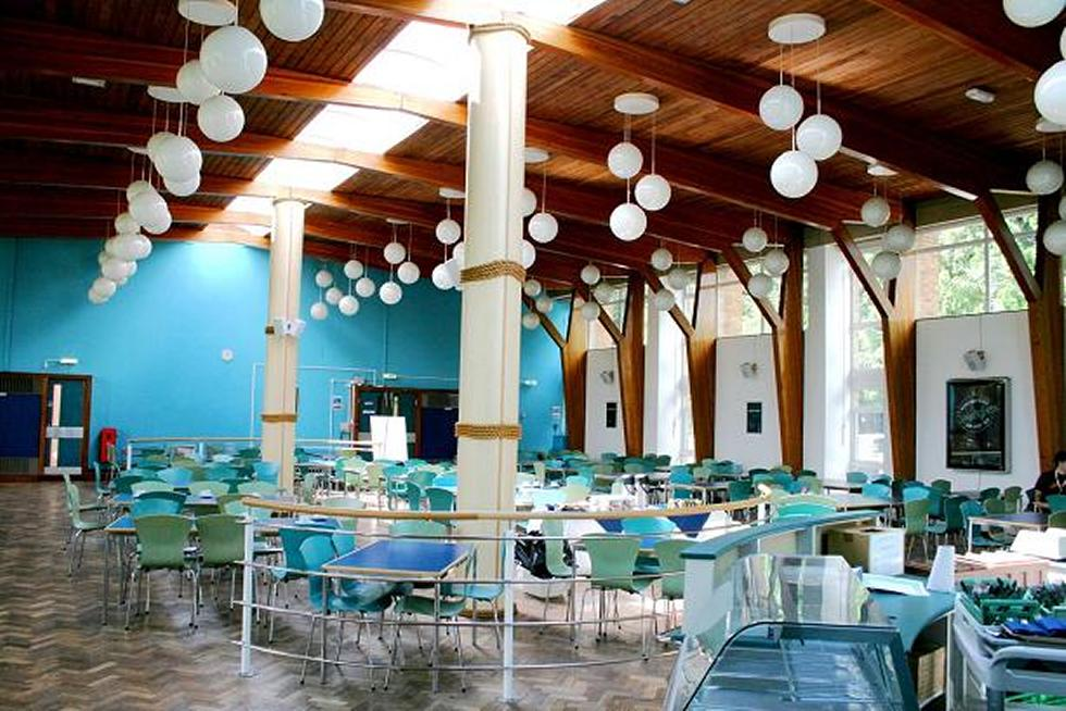 Wessex Lane dining hall