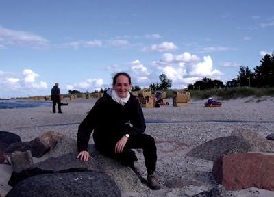 Sally visiting the German Baltic