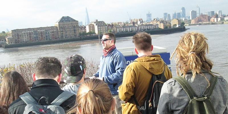 Explore human geography on our fieldtrips