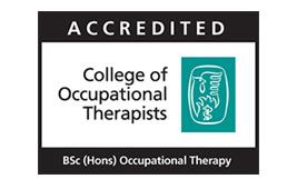 College of Occupational Therapists Accreditation Logo