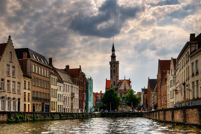 Image of Bruges, taken by Wolfgang Staudt