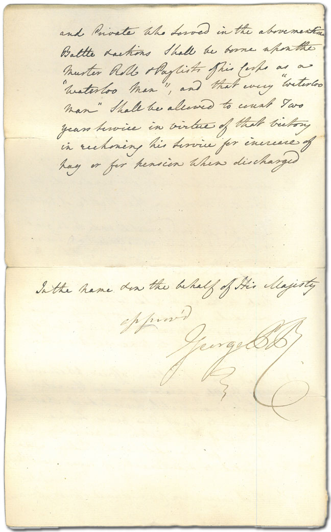 Memorandum by Lord Palmerston - back