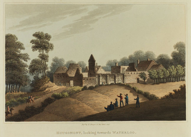 The ruins of Hougoumont