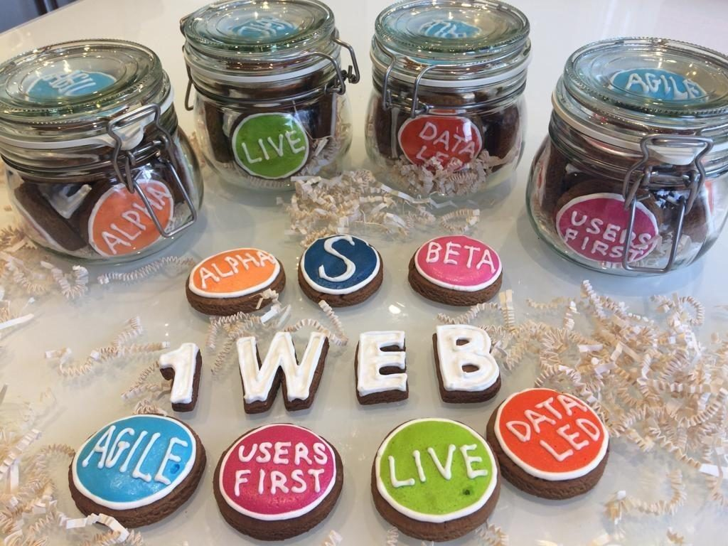 OneWeb cookies given to the speakers