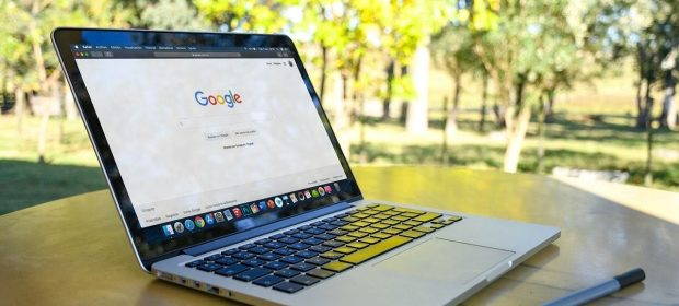 Mac showing Google Search whilst outside