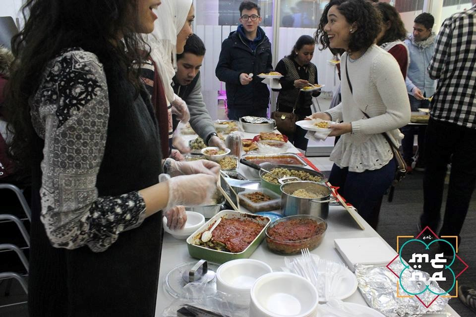 The MENA Society and Lebanese Society collaboratively hosted a Souk Ek Akl at the University of Southampton, bringing together people from all cultures for a memorable night!