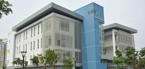 Exterior view of Malaysia Campus main building.